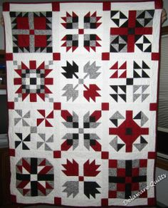 sampler quilts | This is my newest sampler quilt, my 2011 BOM sampler . My quilt only ...