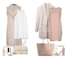 Untitled #498 by margaridasilv on Polyvore featuring polyvore fashion style New York Industrie MANGO STELLA McCARTNEY MARC CAIN Nly Shoes Rochas Chloé Alexander Wang Mattia Cielo clothing