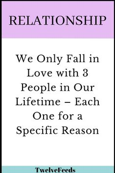 We Only Fall in Love with 3 People in Our Lifetime – Each One for a Specific Reason – Twelve Feeds - Falling Out Of Love Quotes, Falling In Love Again, Relationship Psychology, Relationship Quotes, Life Quotes, Funny Quotes, This Kind Of Love, What Is Love, Meaningful Quotes