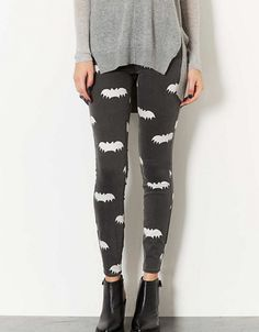 10 Stylish Ways to Wear Bat Print This Halloween