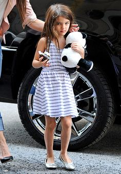 Celeb Kids' Hottest Back to School Fashions: Want Suri Cruise's metallic flats? Find out how you can get them here!