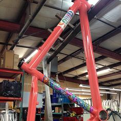 TBT to the 1st Creatures Pro-Model Sold (Darker Coral PowderCoat)   Bling bling…