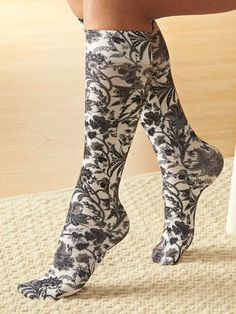 dc80638709 Get the circulation support you need with a touch of flair from our cute  and colorful women's compression socks. Find your favorites today.