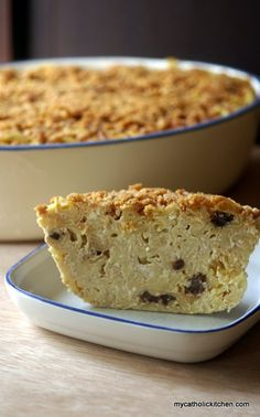 Noodle Kugel for Saith Edith Stein also known as Saint Benedicta of the Cross