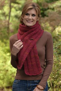 """A reason to try Tunisian crochet! """"Rogue Ribs"""" from the book Get Hooked on Tunisian Crochet."""
