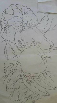 Ideas Painting Fabric Art For 2019 Fruit Painting, Tole Painting, Fabric Painting, Fabric Art, Hand Embroidery Patterns, Embroidery Designs, Colouring Pages, Coloring Books, Faux Stained Glass