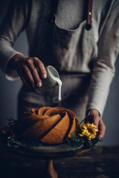 Gluten-free Pumpkin Bundt Cake and wonderful Tea from Tea Kuchen Dark Food Photography, Cake Photography, Gluten Free Cakes, Gluten Free Desserts, Pavlova, Cupcakes, Cupcake Cakes, Pumpkin Bundt Cake, Pumpkin Tea