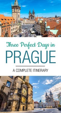 3 Days in Prague: The Perfect Prague Itinerary Prague Travel Guide, Europe Travel Tips, Travel Destinations, Backpacking Europe, Budget Travel, 3 Days Trip, Vacation Trips, Vacations, Travel Couple