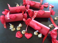 Valentines BonBons filled with chocolates!