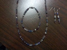 MultiColored Beaded Set by thefalconandtheraven on Etsy, $26.99