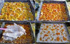 Csokis-túrós-gyümölcsös süti