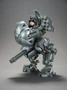 My fetish for pretty ladies driving mechs continues unabated…
