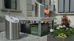 A Swiss city is using an ingenious system to deal with trash Read more Technology News Here --> http://digitaltechnologynews.com A Swiss company is changing the way cities deal with trash by using a system of underground waste disposal. Trash containers are stored below ground level. This not only increases capacity but also gets rid of the smell and keeps the trash out of sight. Read more... More about Europe Garbage Disposal Garbage Bin Garbagebin and Real Time Video Source/Original Post…