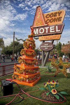 Sally's Tree in Cars Land at Disney California Adventure Park tami@goseemickey.com