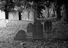 Neck of Land Cemetery. Massachusetts    Taunton's oldest, established in 1687.
