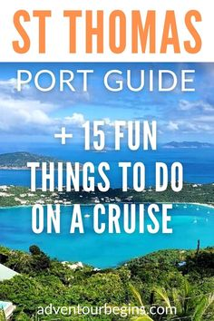 15 Fun Things to Do in St Thomas Cruise Port (+ Port Guide - cruise terminal info, getting around the port. St Thomas cruise tips and the best St Thomas shore excursions. #stthomas #caribbeancruise #caribbeanislands #cruise #cruiseport #royalcaribbean #celebritycruises #carnival #ncl #msc #disneycruises #princesscruises Bahamas Cruise, Cruise Port, Caribbean Cruise, Packing For A Cruise, Cruise Travel, Cruise Vacation, Best Cruise, Cruise Tips, Cruise Theme Parties