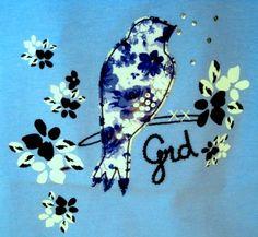 Detalla camiseta de #girandola para #niña.
