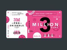 Dribbble 2016 3m x2