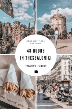 A Guide For Planning A Trip To Thessaloniki - Things to do in the capital of Macedonia 2 day itinerary, including food & restaurants tips, shopping and sightseeing Hotel Secrets, Cheap Places To Travel, International Travel Tips, Thessaloniki, Travel Aesthetic, Travel Abroad, Travel And Leisure, Greece Travel, Holiday Travel