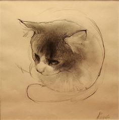 Cats 4 by Anna Egorova