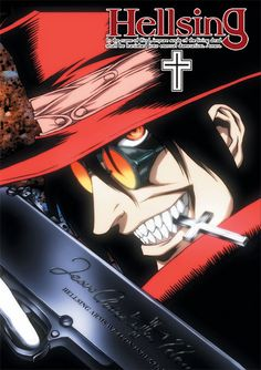 Hellsing (or Hellsing Ultimate): A dark, supernatural anime about vampires with some gore.