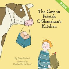 Our friends & fellow BCorp Little Pickle Press relaunched The Cow in Patrick O'Shanahan's Kitchen, a lovely picture book that offers young readers a look at where food comes from. While supplies last, you'll get free shipping & 15% of net sales from the book will be donated to the ONE Campaign, an international advocacy organization dedicated to ending extreme poverty & preventable disease. BONUS: To buy a copy of this multiple award-winning picture book to benefit ONE, please visit bit.ly/B