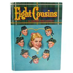 Eight Cousins Vintage Childrens Book Louisa May Alcott 1955 Whitman Hardcover