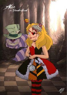 Twisted Alice by Kasami-Sensei.deviantart.com on @deviantART
