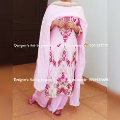 Punjabi Salwar Suits, Beautiful Suit, Indian Designer Wear, Traditional Outfits, Hand Embroidery, Mom, Patterns, Clothes For Women, Clothing