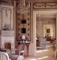 Enfilade in a Swedish house