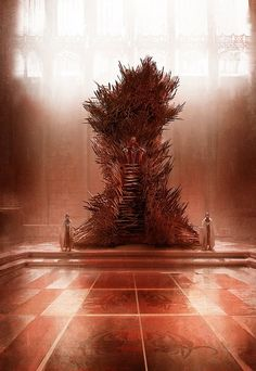 """The Real Iron Throne - """"So what does the Real Iron Throne look like, you ask? Glad you asked. It looks kind of like this"""" George R.R. Martin"""