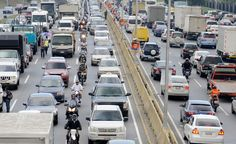 Traffic in Caracas...