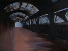 "Saatchi Art Artist Marta Zamarska; Painting, ""A Railway Impression XXIV"" #art"