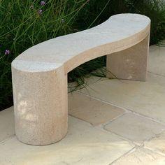 Buy Foras Jasper 130 Curved Beige Outdoor Bench Online At JohnLewis.com    John Lewis
