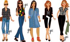 illustrations mode pour l'émission TV de Cristna Cordula Illustration Mode, Illustrations, Fashion Clipart, Style Parisienne, Sketches Of People, Mens Fashion, Fashion Outfits, Daily Look, Art Girl