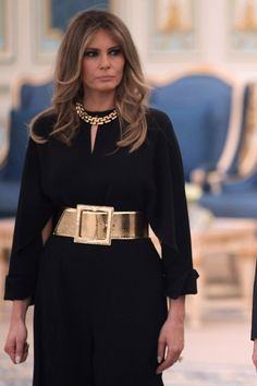 Melania Trump's Decision to Not Wear a Headscarf in Saudi Arabia Doesn't Go Unnoticed