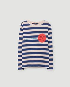 Dog Kids Long Sleeve Tee in Pink Stripes by The Animals Observatory High End Fashion, Kids Fashion, Kids Tops, Summer Hats, New Kids, Pink Stripes, Kids Outfits, Long Sleeve Shirts, Sleeves