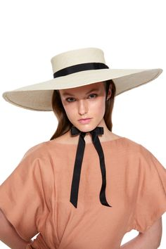 81d65eb5fd2ee Elizabeth Hat by GLADYS TAMEZ MILLINERY for Preorder on Moda Operandi