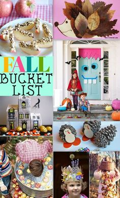 Fall Bucket List Ideas to make, do & eat