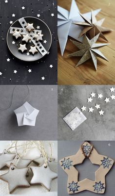 {1. Cookie Stars 2. Paper Stars 3. Paper Ornament 4. Magnet Stars 5. White Ceramic 6. Star Ornament} We love holiday stars! And we are overloading you with Christmas Christmas and Chrismas before the week ends. I hope it will...