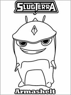 Slugterra Color Slugs How To Draw Slugterra Infurnus Step By Step Cartoons Cartoons Coloring Pages Monster Coloring Pages Owl Coloring Pages