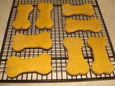 Pumpkin & Peanut Butter Dog Treat Recipe