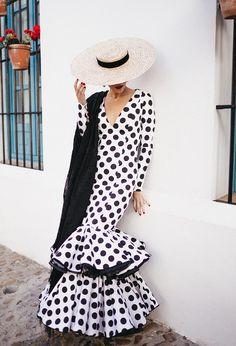Flamenco Costume, Flamenco Dresses, Fashion Shoot, New Outfits, Marie, Style Me, Polka Dots, Feminine, Photoshoot