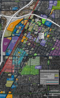 THE Downtown Vegas Map