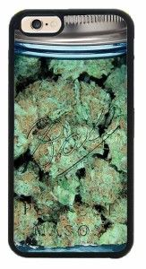 $8.99 - Weed iPhone Case - awesome phone case for stoners with an iPhone 6/iPhone 6 Plus!