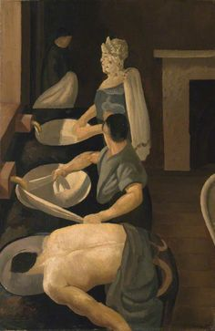Soldiers Washing, 1927  Stanley Spencer  photo credit: Whitworth Art Gallery, University of Manchester