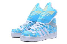 Adidas Obyo Shoes Blue White