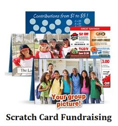 Tips on raising funds quickly with scratch card fundraising - Youth sports teams love this easy fundraiser because each player can easily raise $100 or more.
