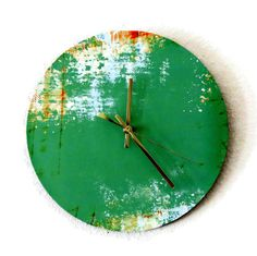 Unique Wall Clock Home Decor Decor and Housewares by Shannybeebo, $49.00