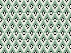 Jessica Comingore, blue, geometric, pattern, print, design, retro, vintage, colour, repeat